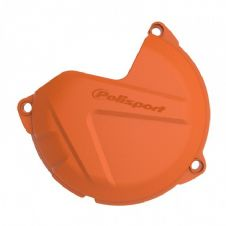 CLUTCH COVER PROTECTOR KTM/HUSKY SX/EXC 250/300 13-16, FREERIDE 250R 14-17 ORANGE